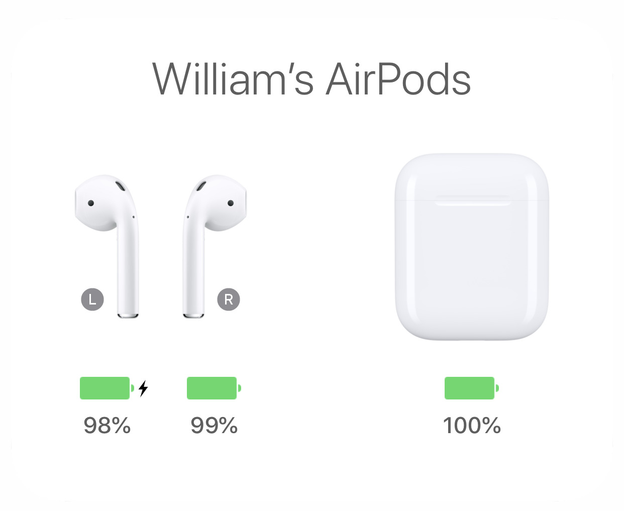 Nothing will get these 2016 AirPods up to 100 percent charge