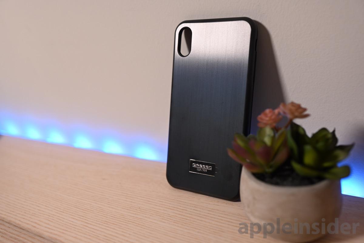 Gresso titanium black solit case