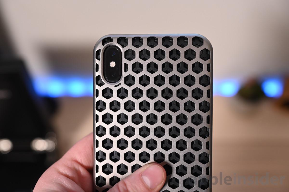 Gresso titanium case combined pattern