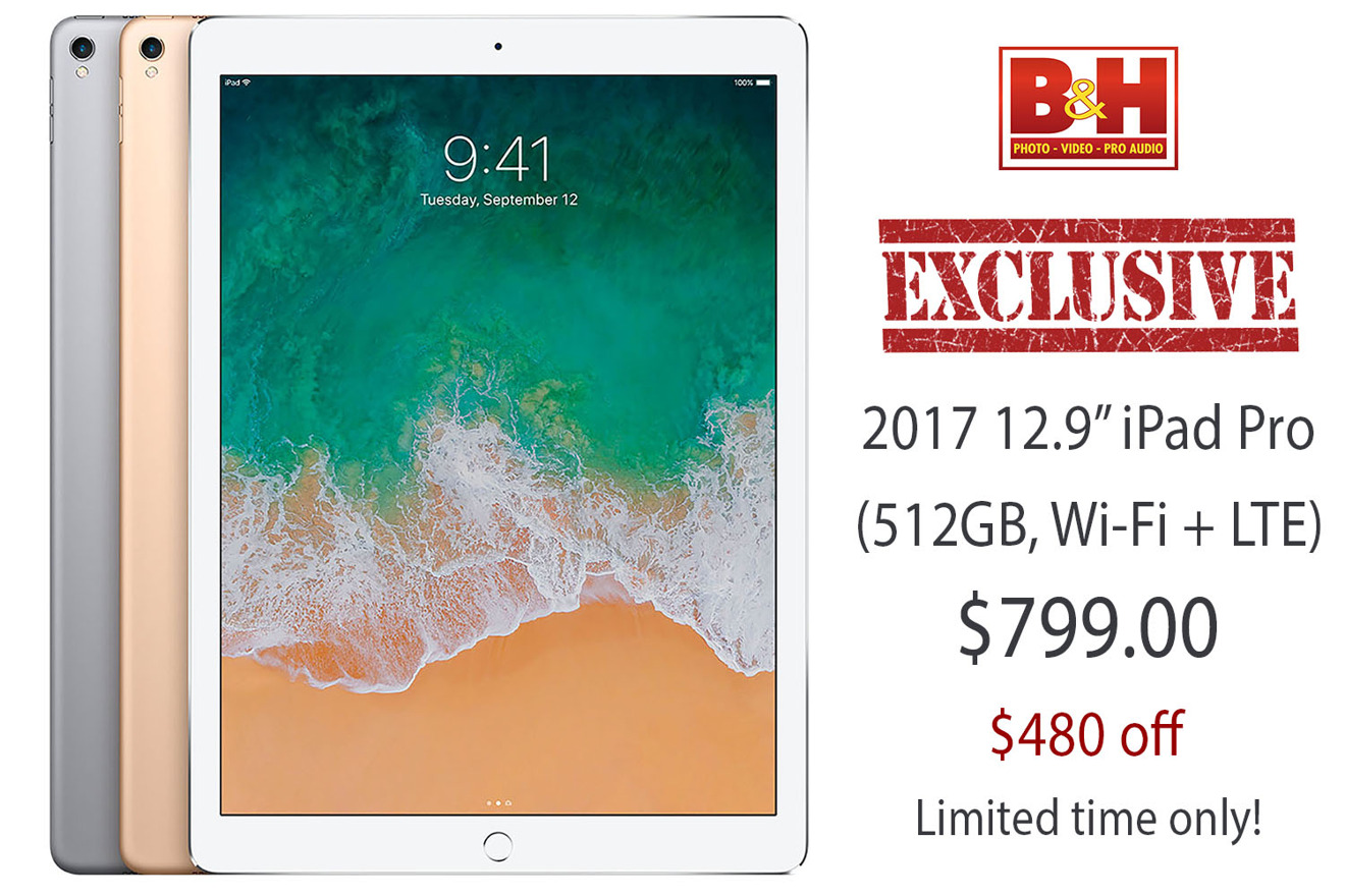 photo of Lowest price ever: Apple's 512GB 12.9-inch iPad Pro with LTE discounted to $799 ($480 off) image