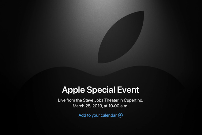 What to expect from the March 25 'It's show time' Apple News