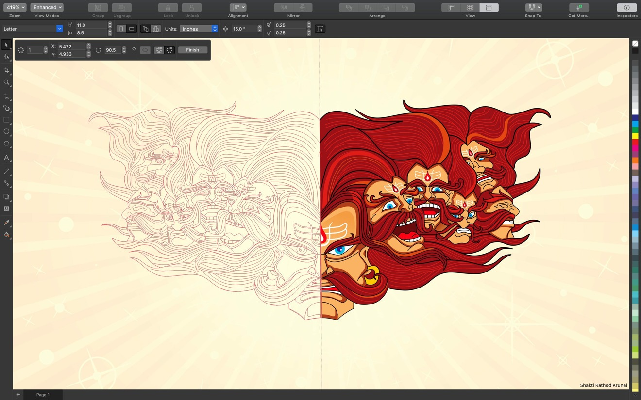 CorelDRAW returns to Mac with upgraded vector tools, Touch Bar support & more