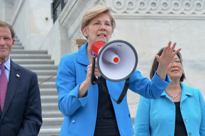 Senator Elizabeth Warren (source: warren.senate.gov)