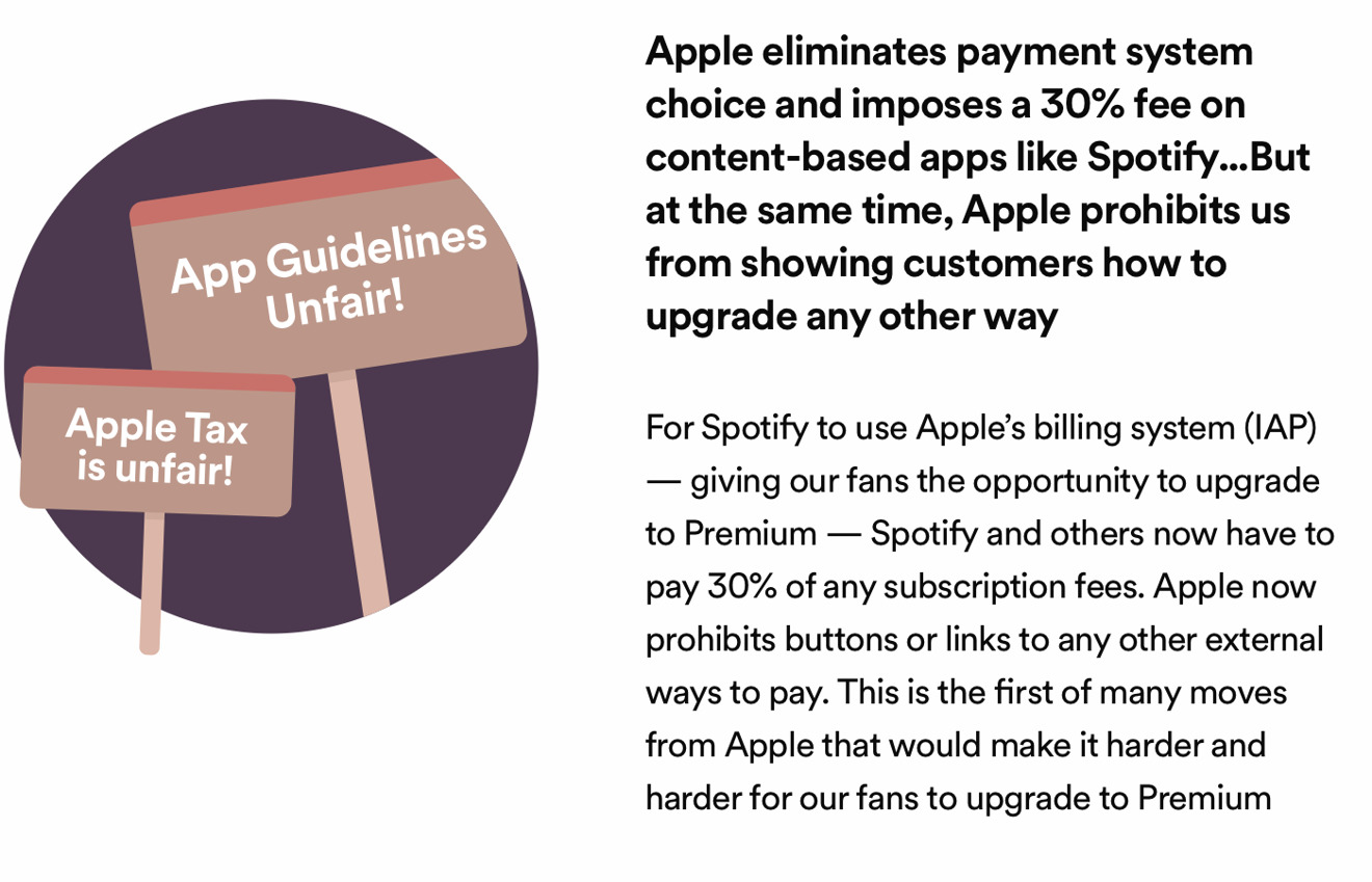 photo of Editorial: After disrupting iTunes, Spotify demands a free ride from Apple's App Store image