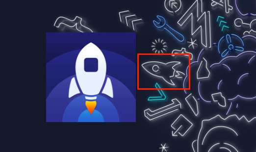 Maybe there are many apps with rocket icons, but we see this one in Apple's invitation and we think of Launch Center Pro