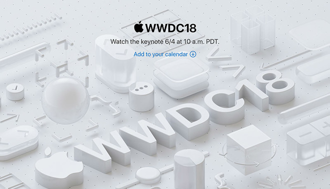 WWDC 2018's invitation featured very many of the same icons as this year's one