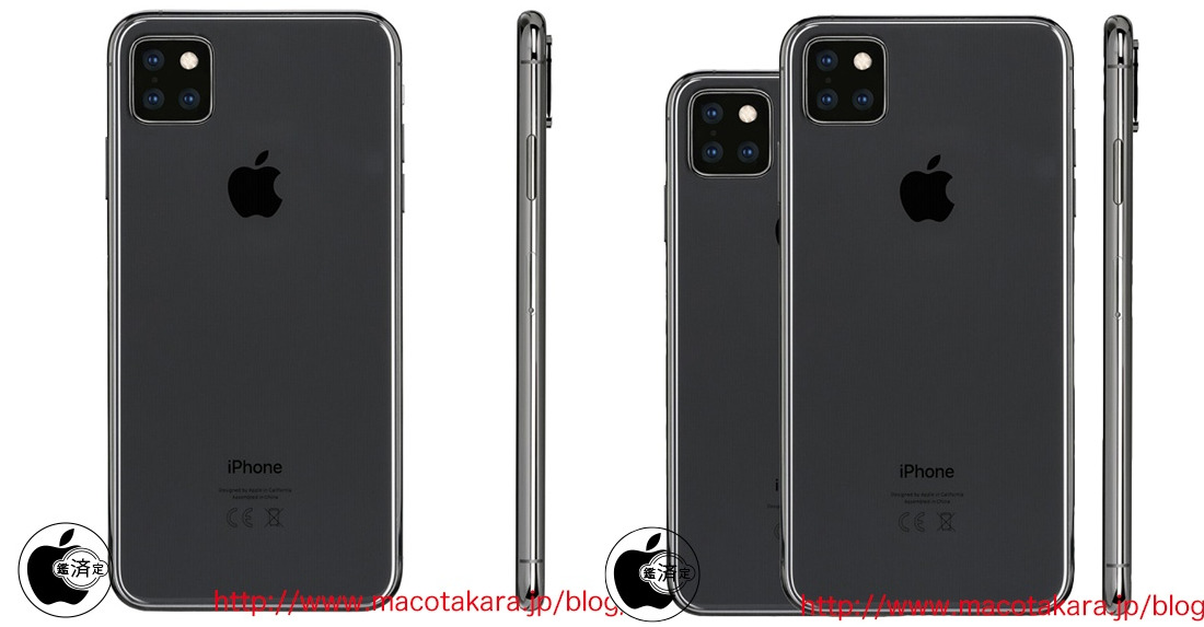 2019 iPhone again predicted to have square camera bump, triple-lens configuration