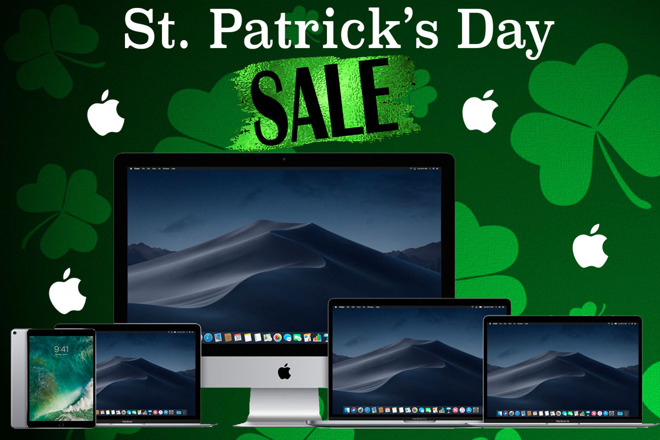 Saint Patricks Day Apple Sale