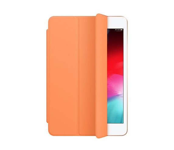 The 2019 iPad mini Smart Cover in papaya.