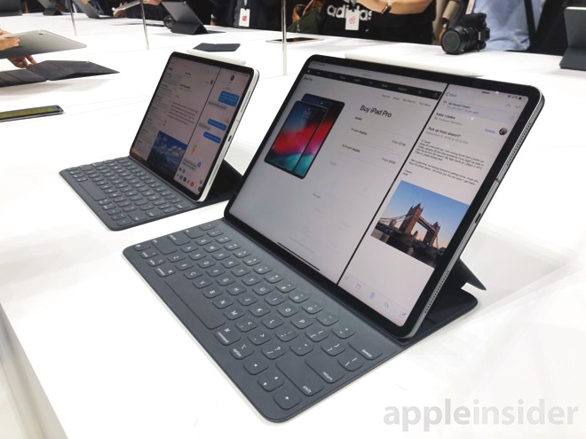 The iPad Pro range