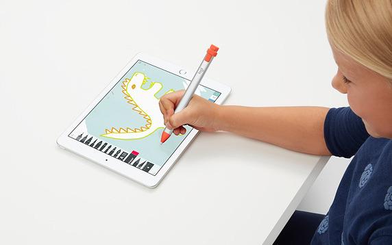 Apple's 2019 iPad Air, iPad mini support Logitech's Crayon stylus