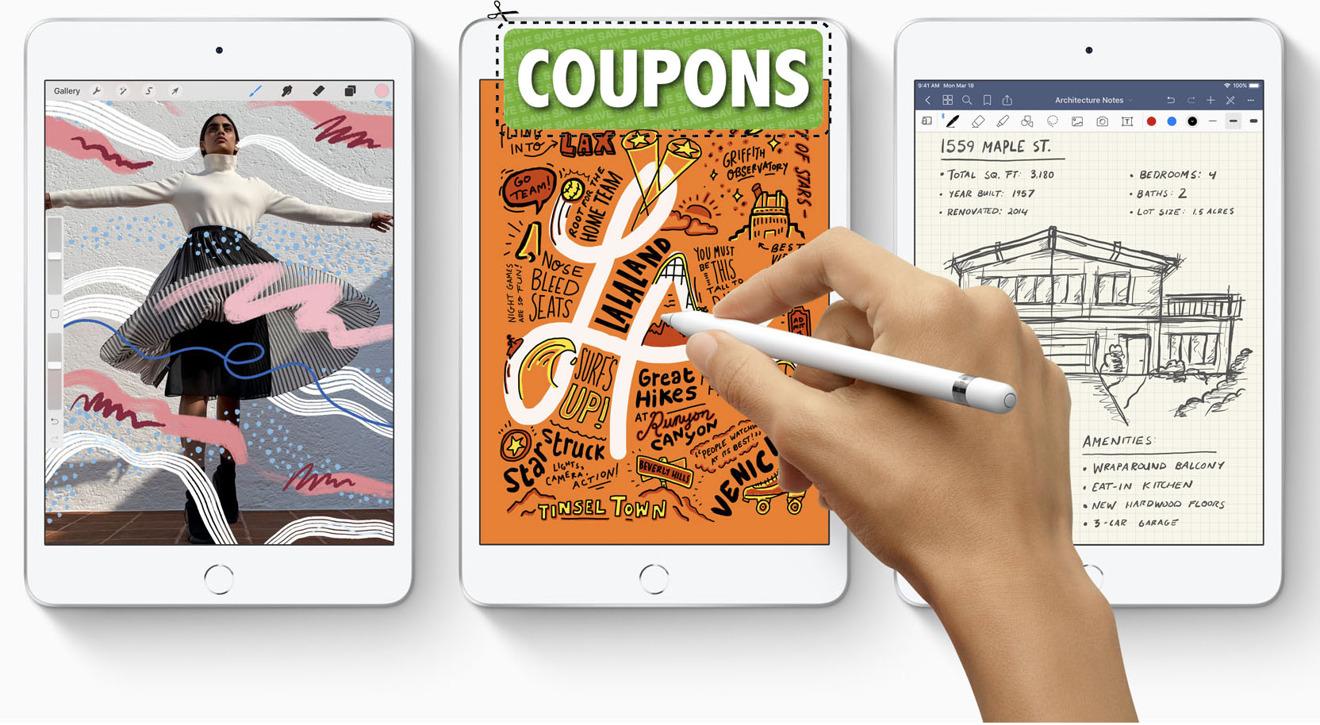 Apple new iPad mini 5th generation