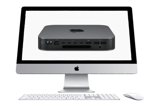 Apple iMac and Mac mini