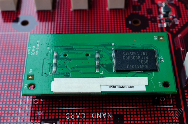 The NAND card.