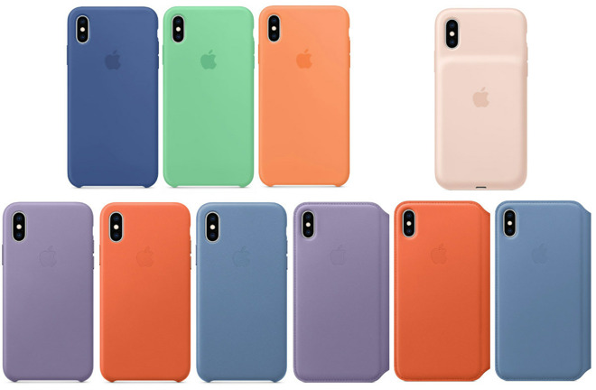 Updated iPhone Spring colors