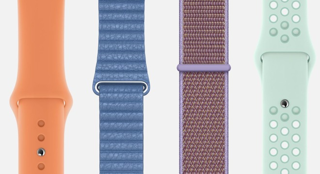 Spring watch band colors