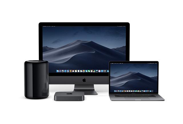 2019 Mac lineup