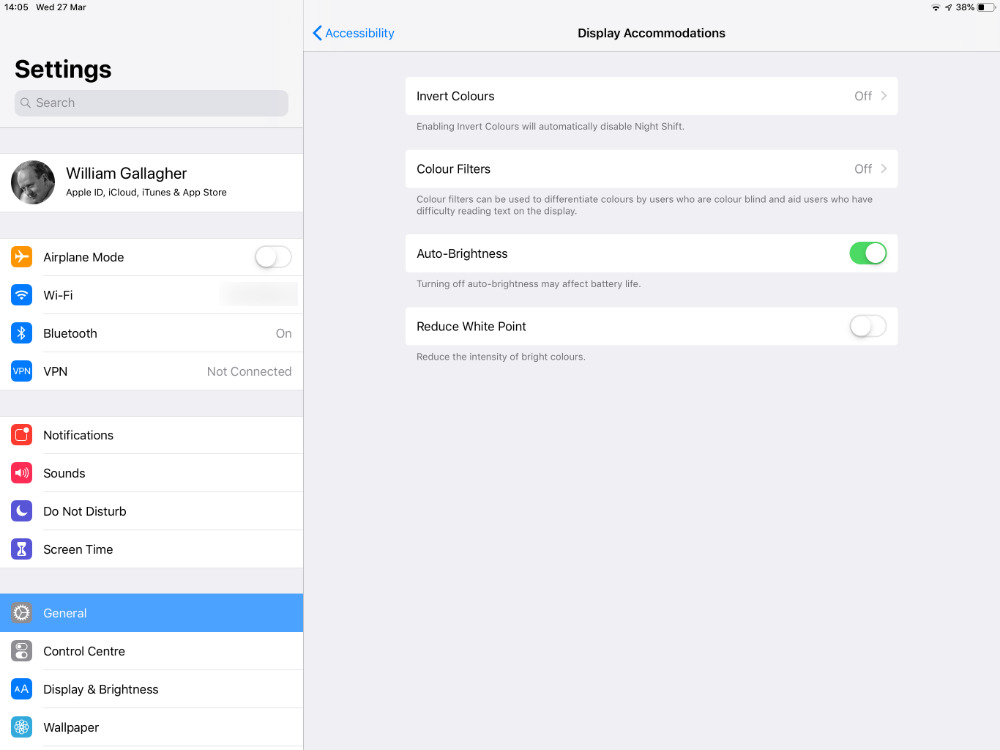 Here are just four of the 150 or more accessibility features and options in iOS