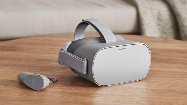 Facebook's Oculus Go VR headset