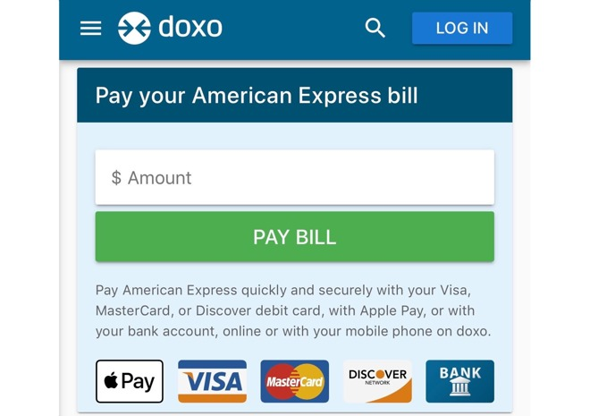 Apple Pay support added to doxo
