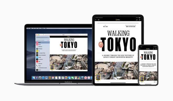 Apple News+ on Apple devices. (Source: Apple)