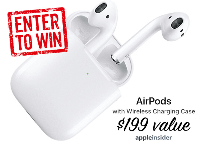 fd7ff30e1a7 Giveaway: Enter to win a free pair of Apple AirPods 2 with Wireless ...
