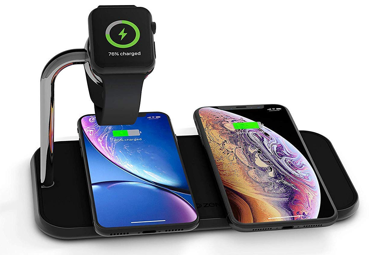 Zens Wireless Charging Pad for Apple Watch and iPhone