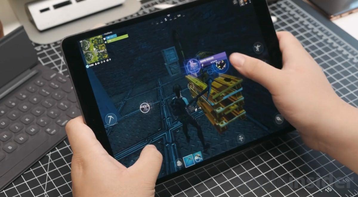 Fortnite on 2019 iPad Air