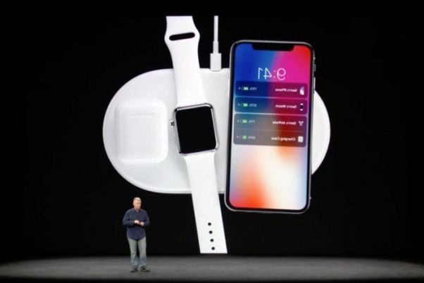 Phil Schiller announcing AirPower at the iPhone X event