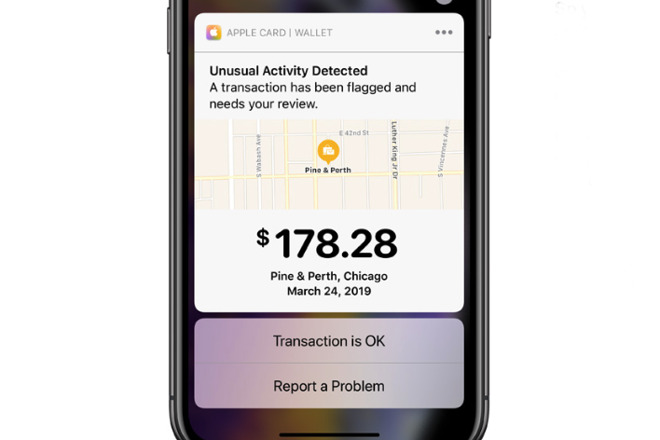 You can track all your spending, but unexpected ones will get you an alert