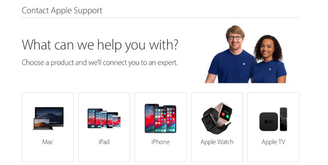 A common starting point for solving Apple issues for customers