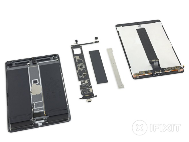 The 10.5-inch iPad Air (via iFixit)