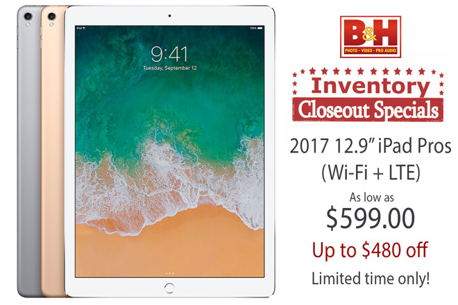Apple iPad Pro clearance sale