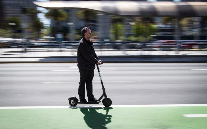 Bird's Xiaomi scooter