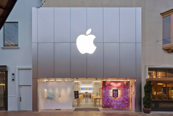 Apple's Bridgeport Village Store, Oregon. Some of the alleged fraud was perpetuated online but others involved visits to Oregon's three Apple Stores