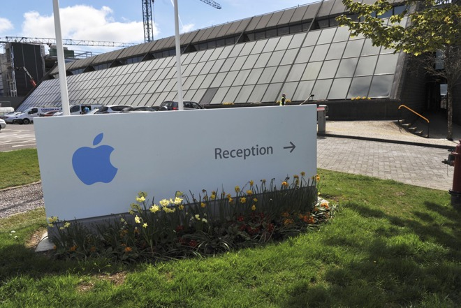 Apple offices near Cork, Ireland.