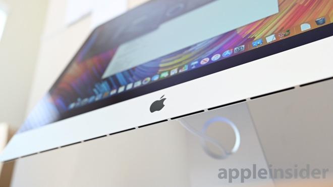 2019 iMac 5K vents