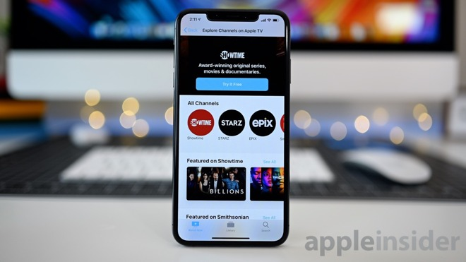 iOS 12.3 TV app with EPIX