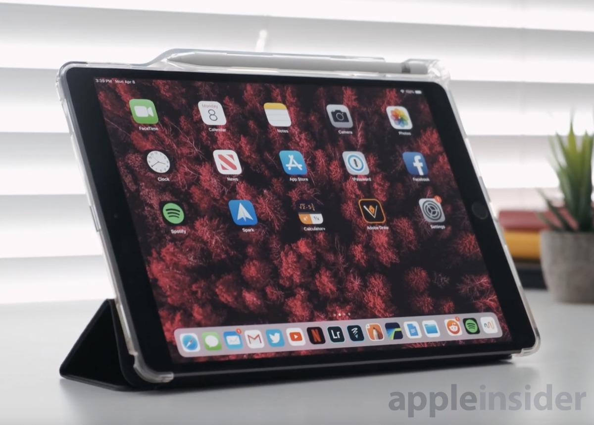 iPad Air in Poetic TPU case