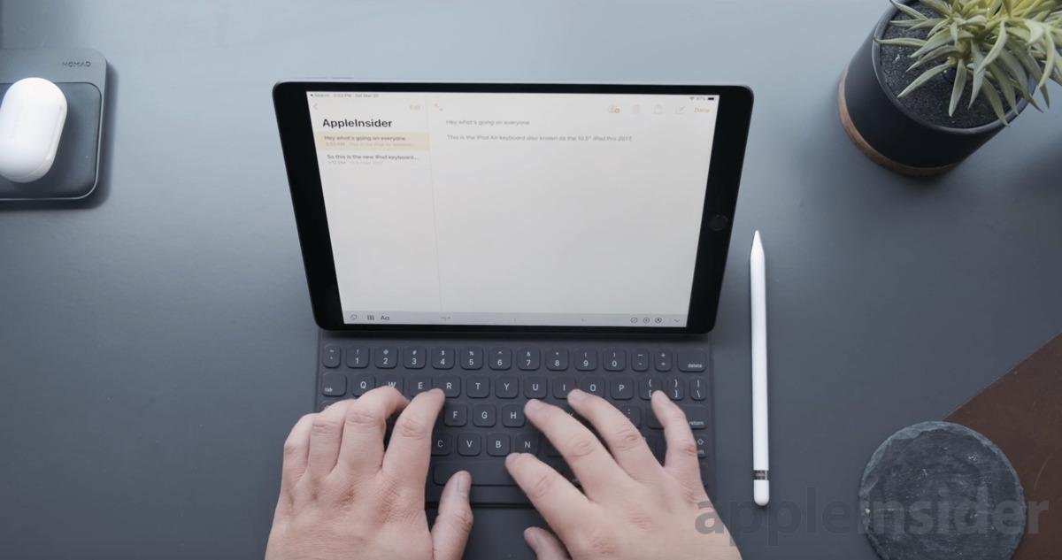 iPad Air with Smart Keyboard