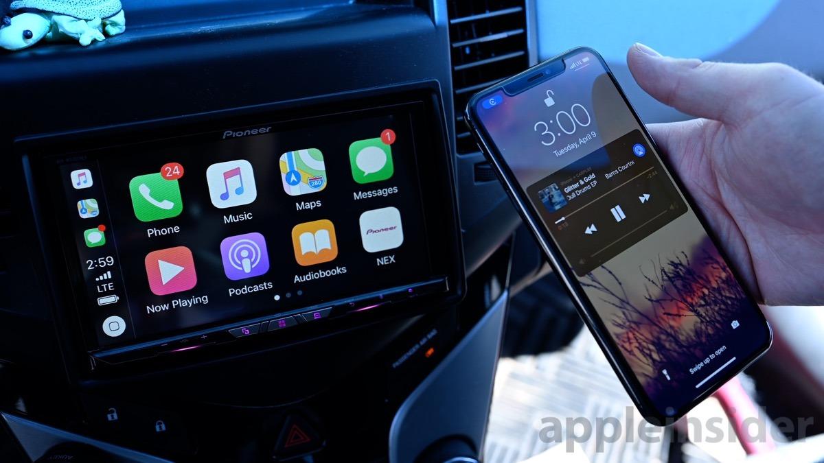 Pioneer AVH-W4400NEX wireless CarPlay