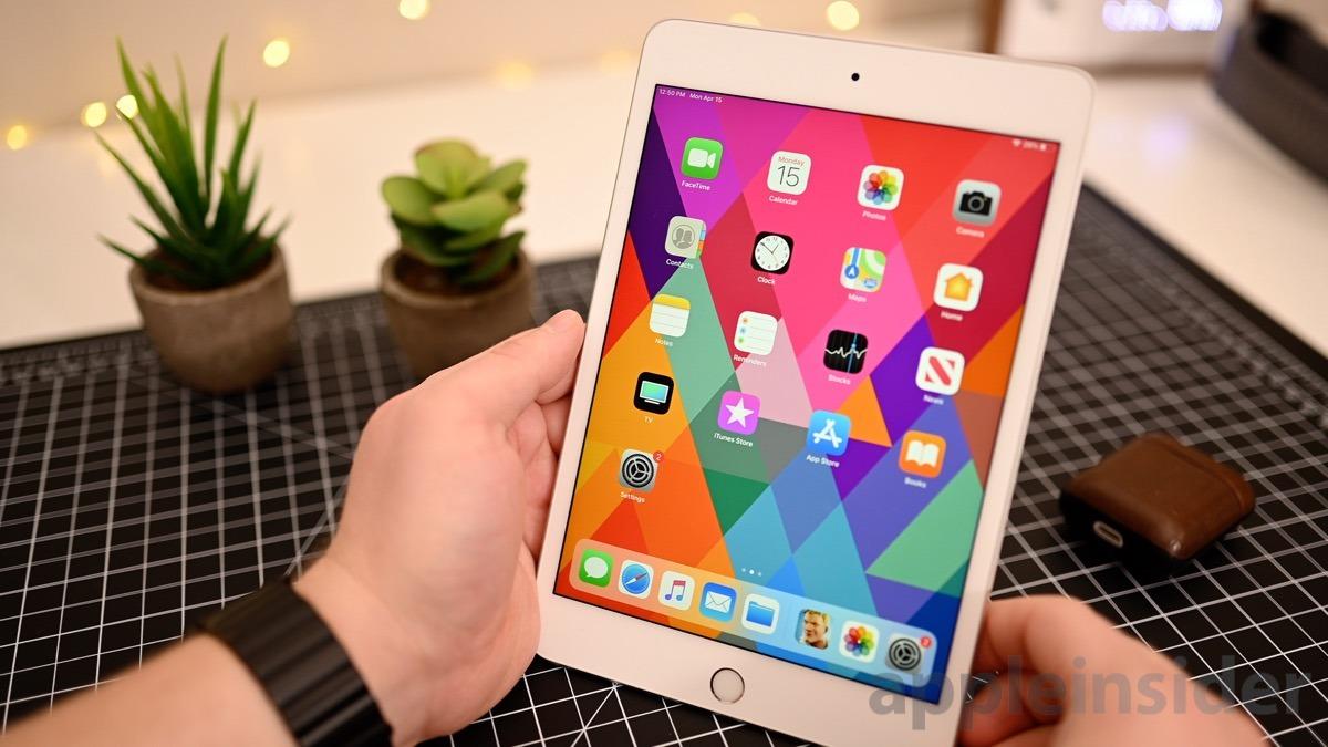 iPad mini (2019) updated display