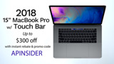 Up to $300 off 2018 15