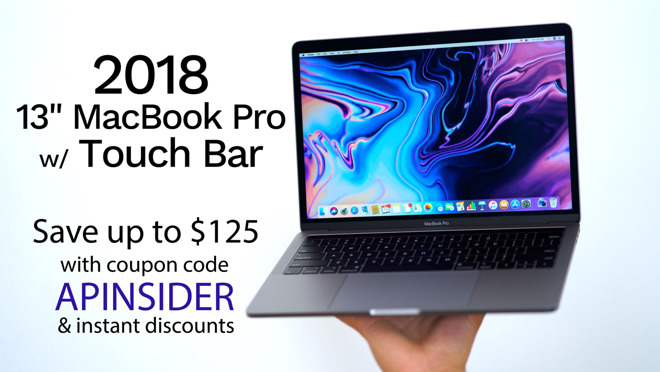 Apple 2018 13 inch MacBook Pro