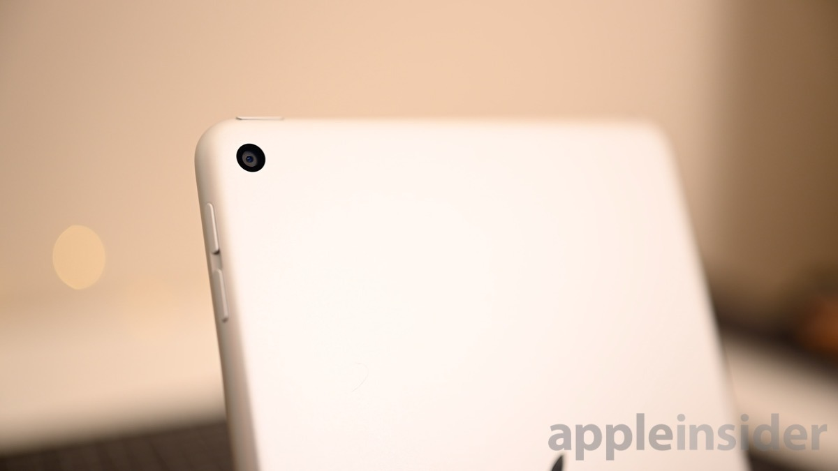 iPad mini 5 camera