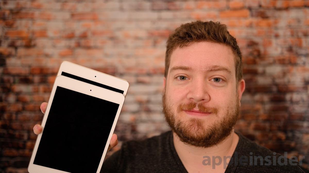 iPad mini FaceTime cameras