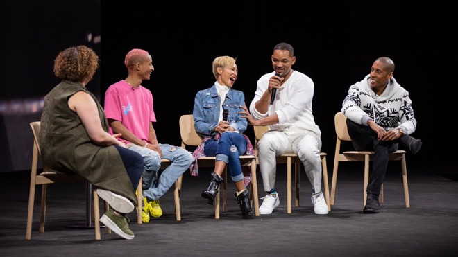 Will, Jada, and Jaden Smith