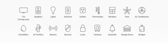 It's not as easy to find HomeKit devices as it should be. Apple maintains a list of types of devices available, though.