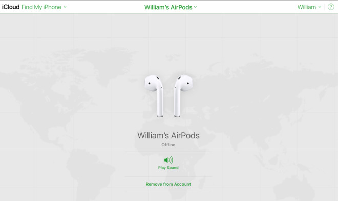 It's easiest to unpair your AirPods via iCloud.com