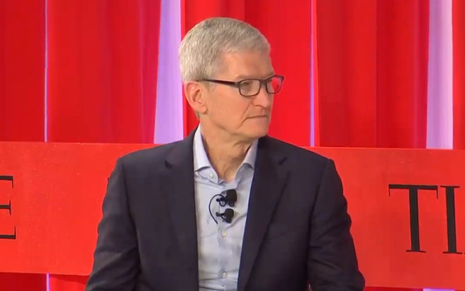 Apple CEO Tim Cook at Time 100 Summit